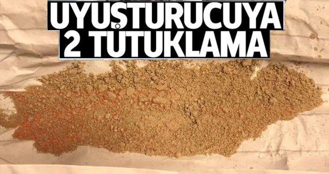 Gaziantep'te zehir tacirlerine 2 tutuklama!