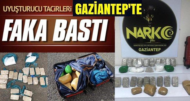 Gaziantep'te zehir zulaları patlatıldı
