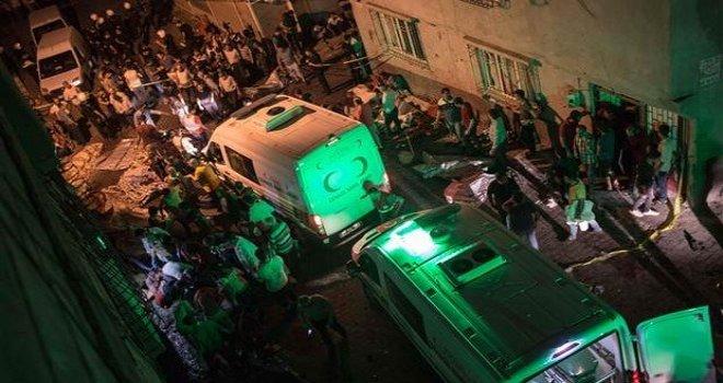 Gaziantep'teki kanlı saldırının failleri hakim karşısında