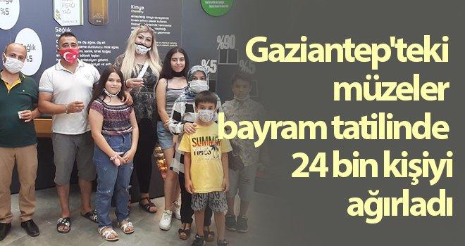 Gaziantep'teki müzeler bayramda ziyaretçi akınına uğradı
