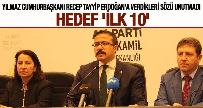 Gaziantep'ten Cumhurbaşkanı Erdoğan'a seçim sözü