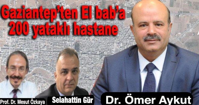 Gaziantep'ten El Bab'a dev sağlık yatırımı...