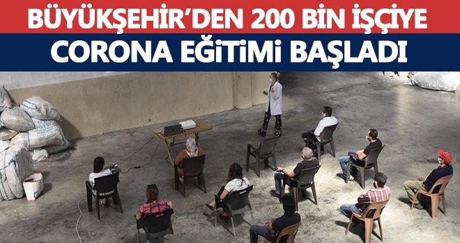 Gaziante'te 200 bin işçiye korona virüs eğitimi