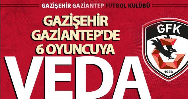 Gazişehir, 6 oyuncusu ile yollarını ayırdı