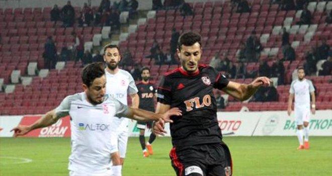 Balıkesirspor Baltok - Gazişehir Gaziantep: 1-0