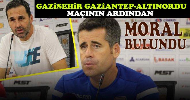 Gazişehir Gaziantep-Altınordu maçının ardından