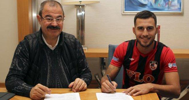 Gazişehir Gaziantep'e Brezilyalı orta saha oyuncusu