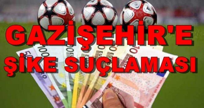 Gazişehir Gaziantepspor'a şike suçlaması!..