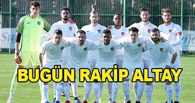 Gazişehir, ikinci hazırlık maçını Altay ile oynayacak