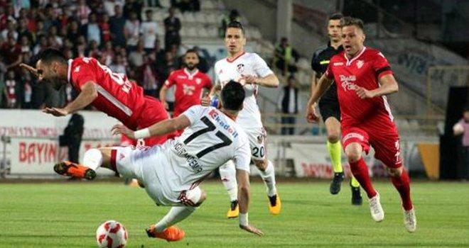 Gazişehir Spor Toto 1'inci Lig Play-off'unda finalinde