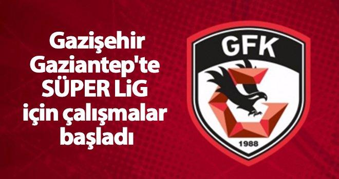 Gazişehir'de süper lig çalışmaları...