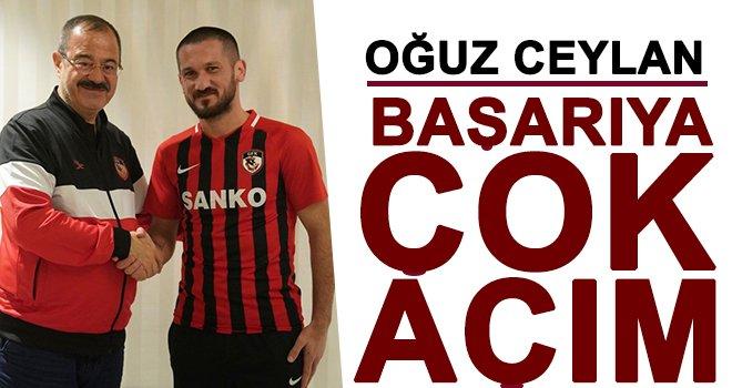 Gazişehir'e  Oğuz Ceylan imzayı attı: 77 numarayı kaptı