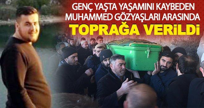 Genç imam gözyaşları arasında toprağa verildi