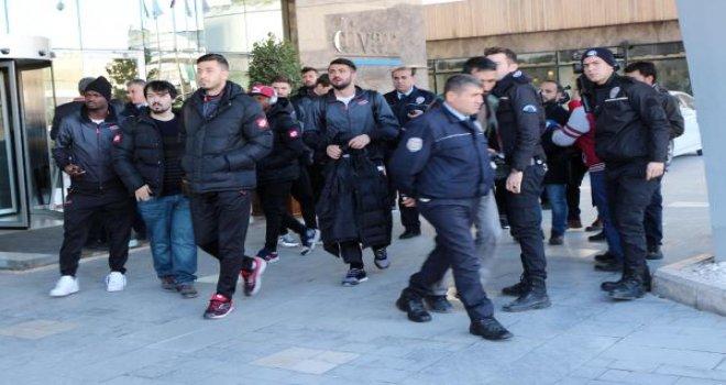 Gençlerbirliği kafilesi, Gaziantep'ten ayrıldı