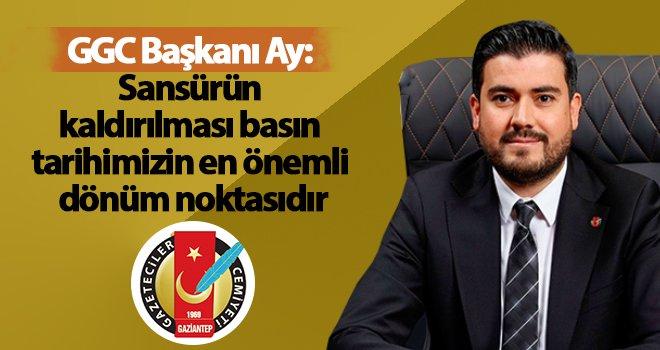 GGC Başkanı İbrahim Ay'dan 24 Temmuz mesajı