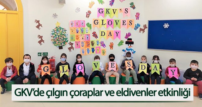 GKV'de çılgın çoraplar ve eldivenler etkinliği