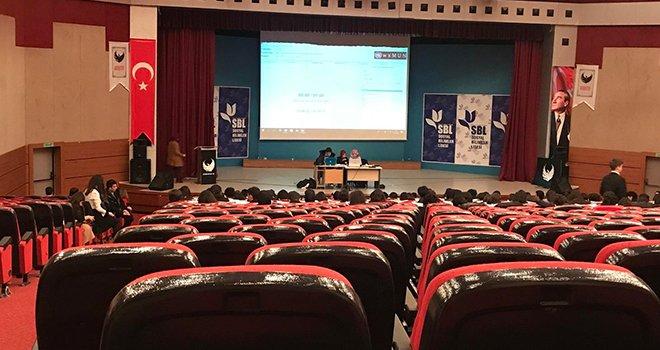 GKV'liler birleşmiş milletler simülasyonu konferansında