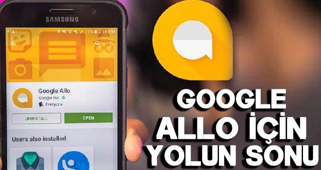 Google Allo'nun fişini bugün çekiyor