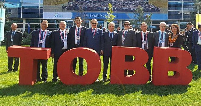 GSO delegeleri TOBB genel kuruluna katıldı