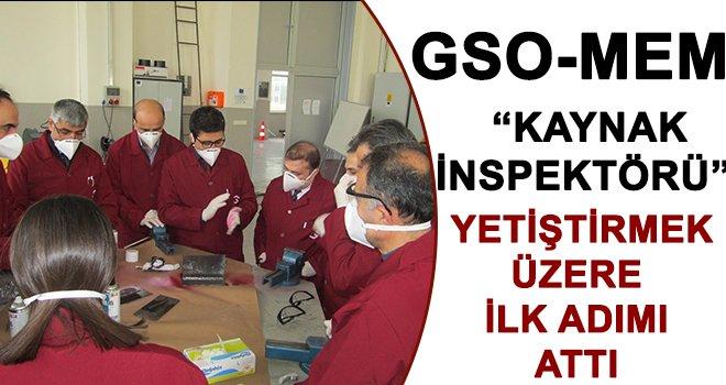 GSO-MEM'DE meslek geliştirme eğitimleri başladı