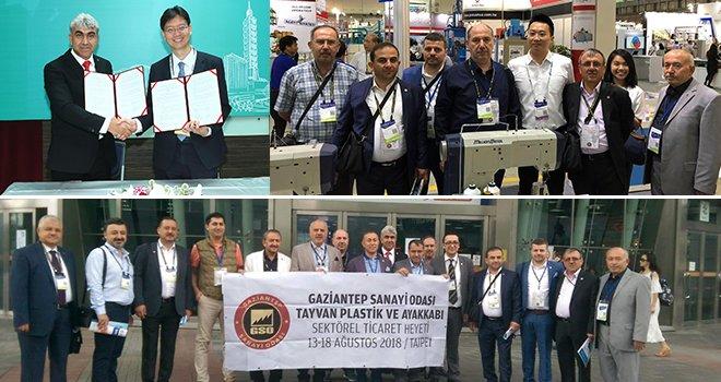 GSO Sektörel Ticaret Heyeti, Tayvan'da