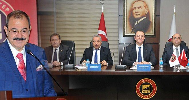 GSO Şubat Meclis Toplantısı yapıldı