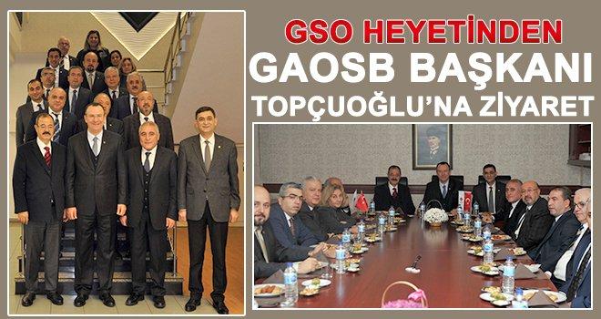 GSO'dan Topçuoğlu'na ziyaret