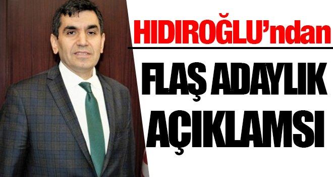 GTO Başkanlığına Hıdıroğlu'ndan flaş adaylık açıklaması