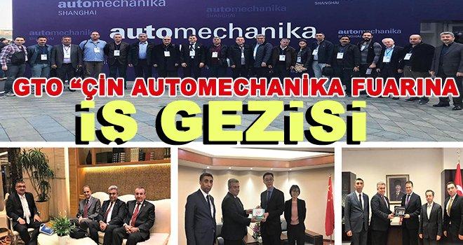 GTO üyeleri automechanika fuarına katıldı