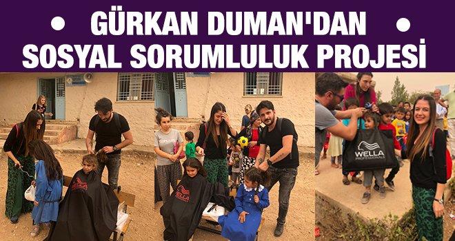 Gürkan Duman'dan sosyal sorumluluk projesi