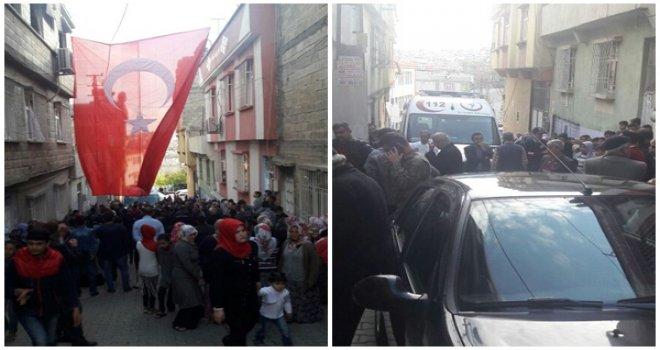 Hakkari Yüksekova'daki Şehit ateşi Gaziantep'e düştü
