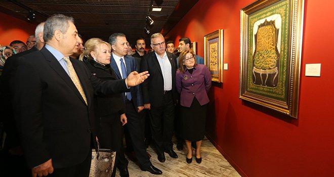 """""""Harflerin Sırrı"""" sergisi Gaziantep'te açıldı"""