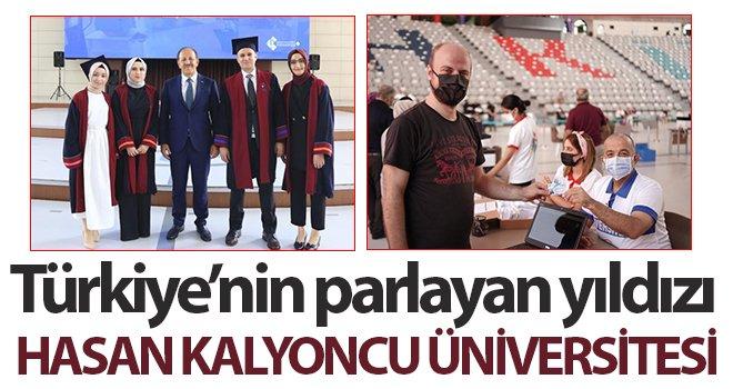 Hasan Kalyoncu Üniversitesi  Türkiye'nin parlayan yıldızı