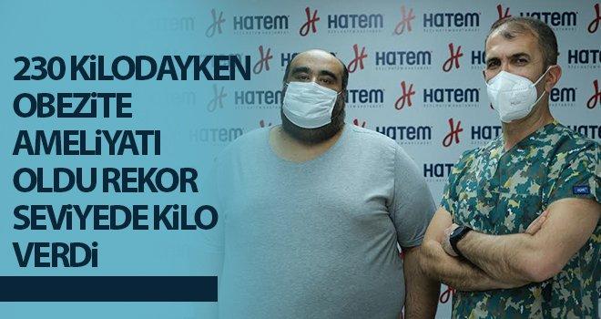 HATEM'de 10 günde 14 kilo verdi...
