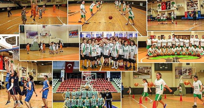 Her yaş için Basketbol Şehitkamil'de