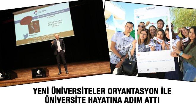 HKÜ'de Üniversite Hayatına Giriş ve Oryantasyon Programı