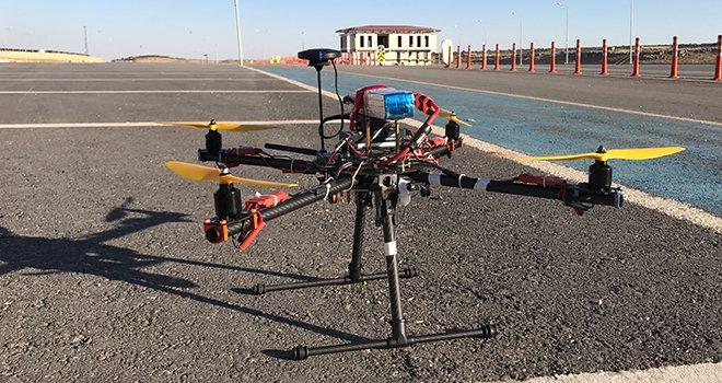 HKÜ'nün insansız hava aracı finalde