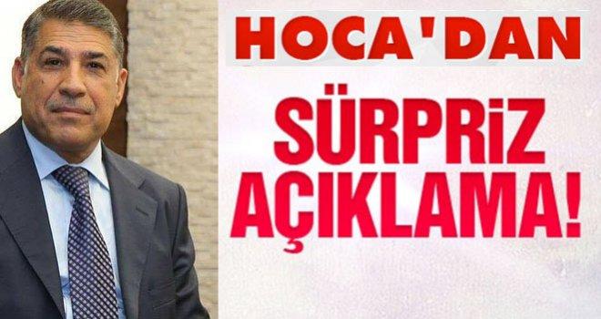 Hoca AK Partiden istifa etti: Yenilir yutulur şeyler söylemedi.