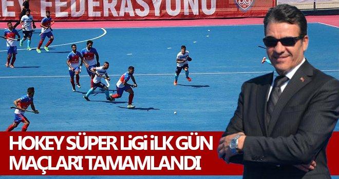 Hokey Süper Ligi İlk gün maçları tamamlandı