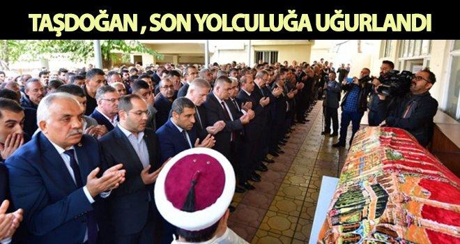 İbrahim Taşdoğan, son yolculuğa uğurlandı