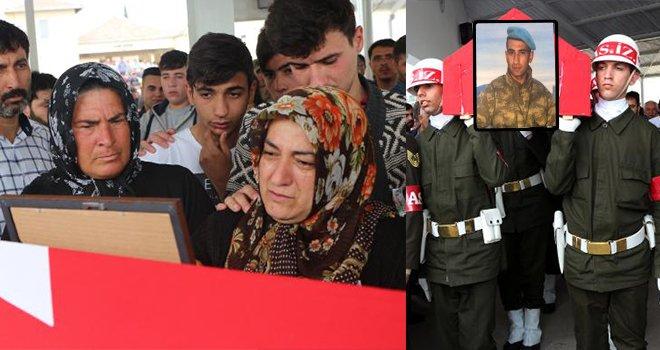 İlik kanserinden ölen er Gaziantep'te toprağa verildi