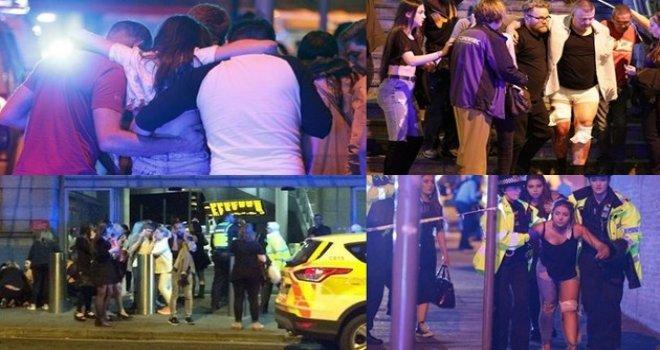 İngiltere'de konserde patlama: 19 ölü, 50 yaralı