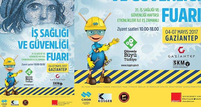 'İş Sağlığı ve Güvenliği Fuarı' 4 Mayıs'ta başlıyor
