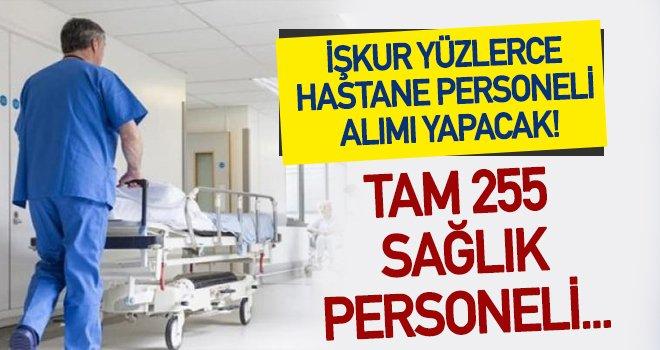 İŞKUR'dan hastane personeli alımı!..