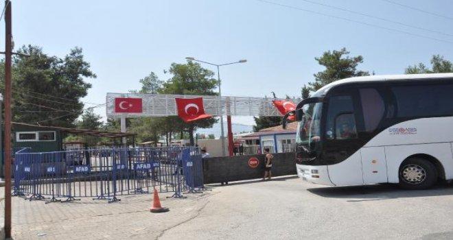 İslahiye'deki 1100 Türkmen, Osmaniye'ye gönderildi
