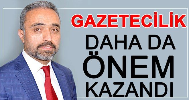 Erdoğa'dan, 10 Ocak Çalışan Gazeteciler Günü mesajı