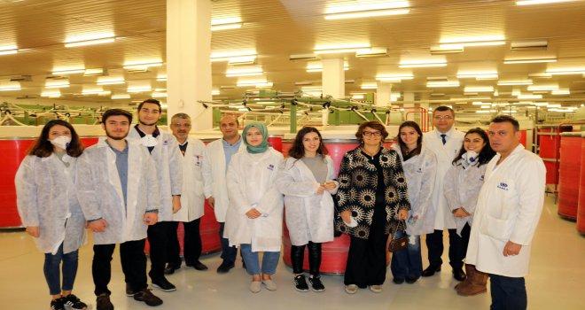 İTÜ Tekstil Fakültesi Öğrencileri Sanko'da buluştu
