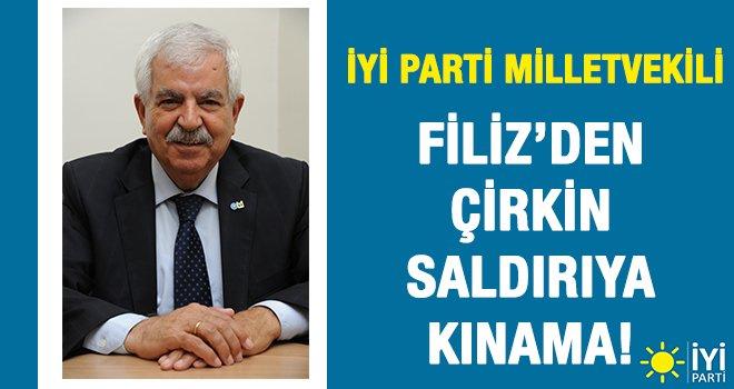 İYİ Parti Milletvekili Filiz'den çirkin saldırıya kınama!