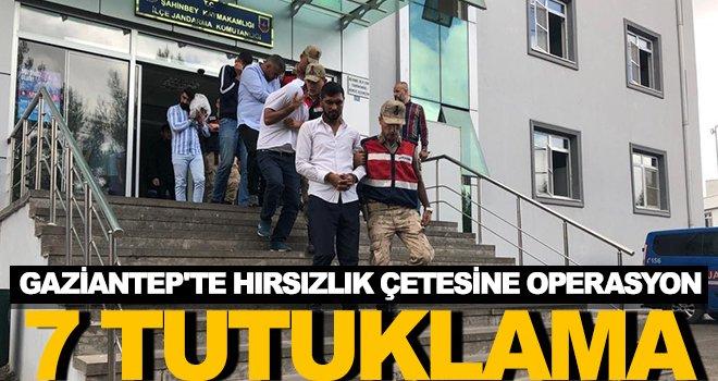 Jandarmadan hırsızlık çetesine operasyon: 7 tutuklama