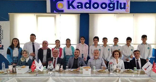 Kadooğlu Holding, öğrencileri ağırladı